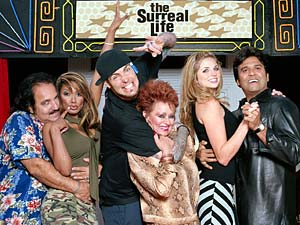 Cast of The Surreal Life 2 included infomercial hosts Ron Jeremy (left) and Erik Estrada (right)