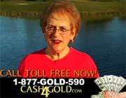 The Ubiquitous Cash4Gold.com TV Commercial