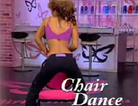 Demo of the Chair Dance: Chair and lowlife nudie bar patron not included.