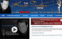 The Kevin Trudeau Show website