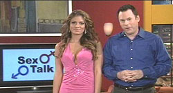 Ross and Bridgetta on the ExtenZe infomercial