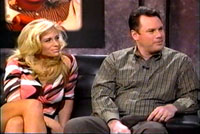 Lawrence Ross with porn star Kim Chambers