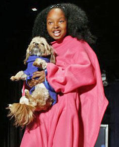 Snuggie at New York Fashion Week