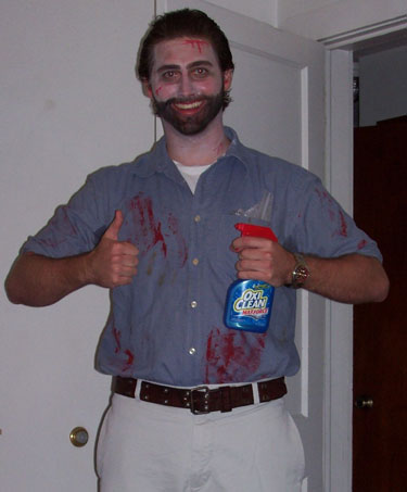 Zombie Billy Mays Costume