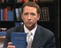 Kevin Trudeau holds Your Wish Is Your Command