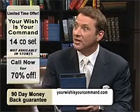 Kevin Trudeau compares Your Wish Is Your Command to a magic genie