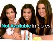 "Perfect Skin: The Kardashian Sisters Make a ""Reality"" Infomercial"