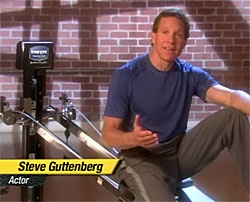 Steve Guttenberg on the Total Gym infomercial