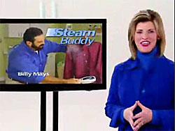 Deborah Mays, wife of Billy Mays, hosting the Steam Buddy infomercial