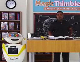 Magic Thimble Crazy Infomercial Gives Us A Lollipop Robot