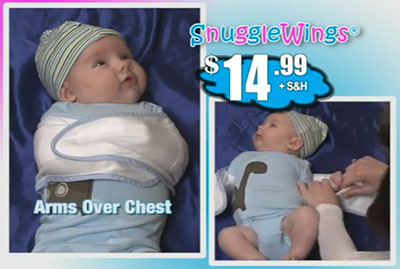 From the Snuggle Wings infomercial
