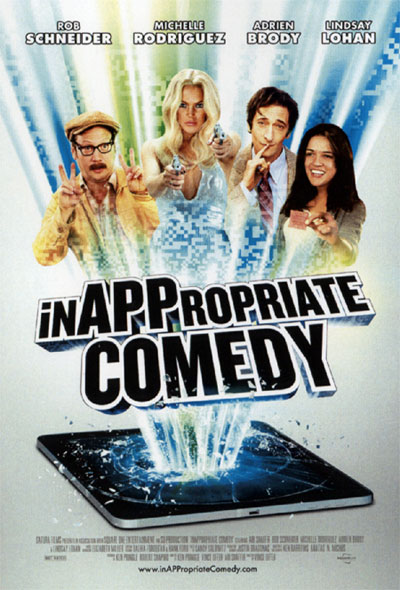 Movie Poster for InAPPropriate Comedy, Directed by Vince Offer from ShamWow