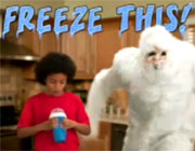 Squeezy Freezy: Eddie the Yeti Shows Kids a Fun Way to Make Purple Drank Slushies!