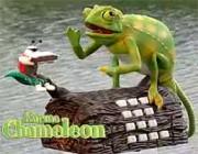 Karma Chameleon Telephone: See Boy George Himself Sell a Singing Plastic Reptile