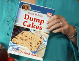 Dump Cakes A Cathy Mitchell Recipe Book with an Unfortunate Name